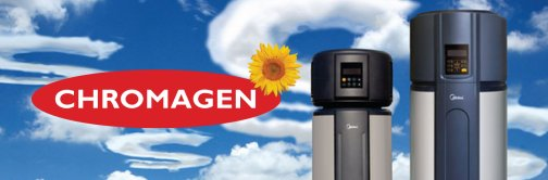 Chromagen heat pumps
