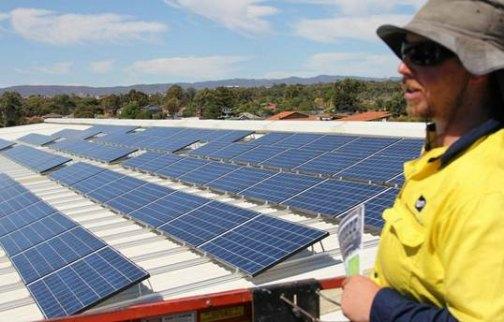 Commercial solar leasing