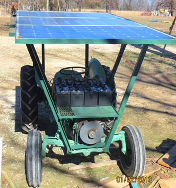 Solar Powered Electric Tractors Energy Matters