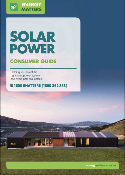 solar consumer guide
