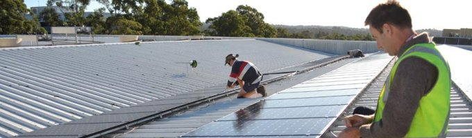 Commercial solar array - JJ