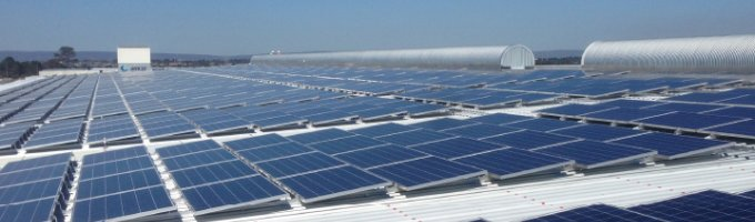 Bidvest Foodservice Solar Array