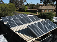 Residential Solar Power Home