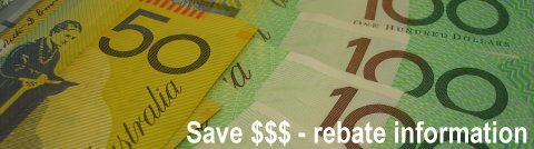 Save up to $1500 on solar hot water rebates