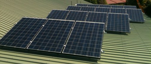 Smith Home Solar Panels System