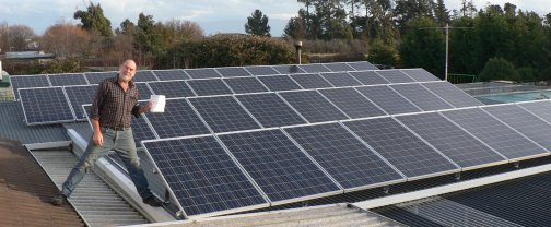 Stebbings Home Solar Power System