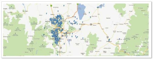 ACT and Canberra solar energy installation locations