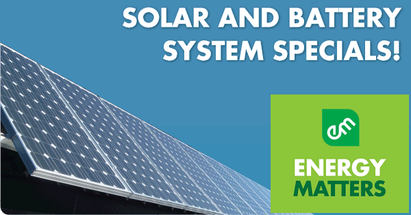 Northgate solar specials