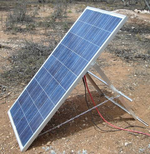 Do it yourself - camping portable solar panels