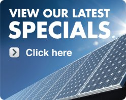 Gold Coast specials - solar panel systems