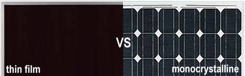 amorphous thin film vs monocrystalline solar panels affects life of a solar panel cell
