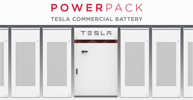 Battery storage prices set to fall in Australia, such as for this Tesla Powerpack.