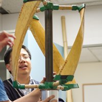 bamboo wind turbine