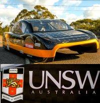 eVe Sunswift solar car