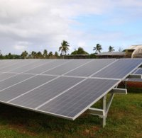 Solar power in the Pacific