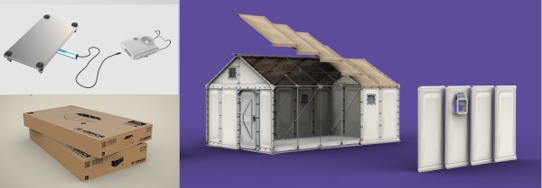Flat-pack Better Shelter
