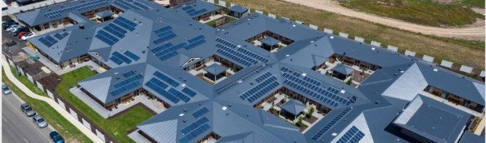 Bupa solar panels