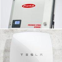 Fronius Symo Hybrid and Tesla Powerwall Battery