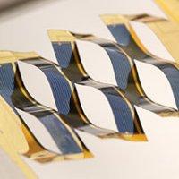 Kirigami solar cells