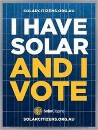 Canning Western Australia - Solar Vote