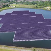 Floating solar farm - UK
