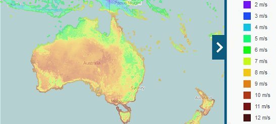 global wind atlas australia
