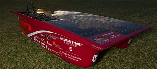 Western Sydney University Solar Car Project (Unlimited - Challenger class)