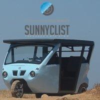 Sunnyclist - Solar And Pedal Powered