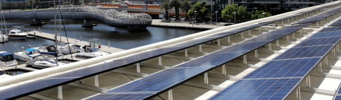 Yarra's Edge Towers solar project
