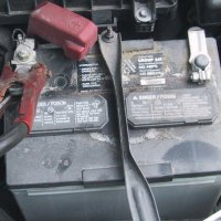 Car battery lead in solar cells