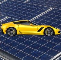 Corvette - solar power