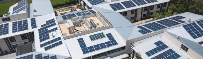 Bupa Sutherland solar installation