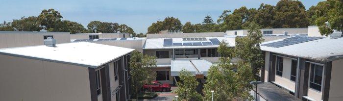 Solar Panels - Bupa Sutherland
