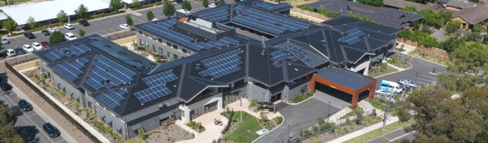 Solar Panels - Bupa Templestowe