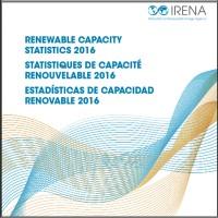 Renewable energy capacity statistics