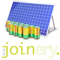 The Joinery solar + battery system