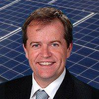 Shorten - Australian renewables manufacturing