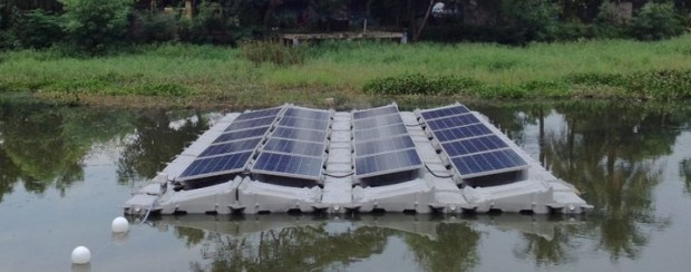 Rec Solar Panels Used In Floating Solar Demonstration