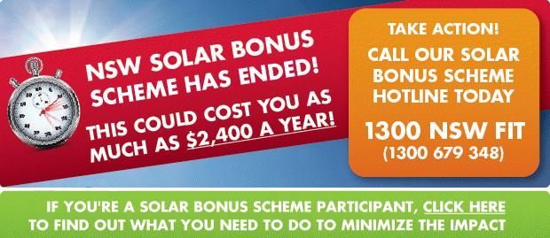 NSW Solar Feed-In-Tariff hotline