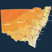 NSW renewable energy map