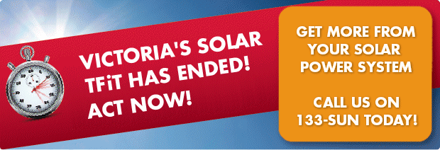 Victoria's Transitional Feed In Tariff - Melbourne and Victoria