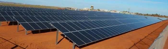 Karratha Airport Solar Power Station