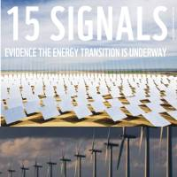 Energy transition signals