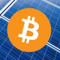 Mining bitcoin and solar power