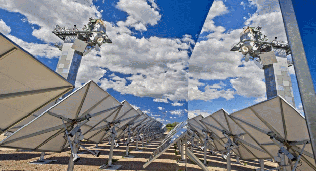 CSIRO concentrating solar thermal technology
