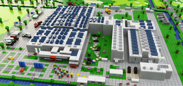 Solar Panels For Lego Factory Energy Matters