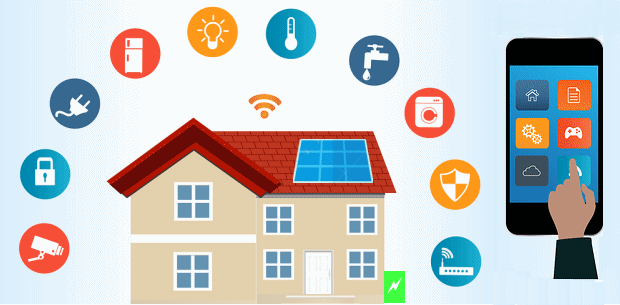 smart homes and the internet of things how does solar. Black Bedroom Furniture Sets. Home Design Ideas
