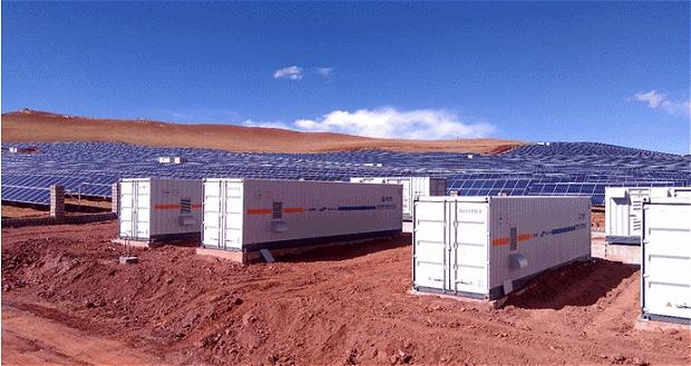 Sungrow Connects Massive Solar Storage Microgrid