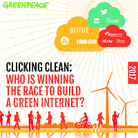 Clicking Clean - Internet energy report