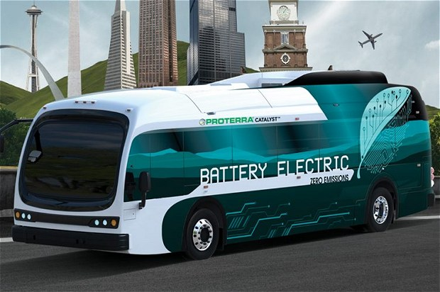 Proterra Catalyst electric bus